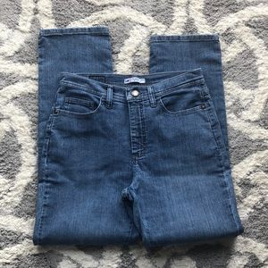 Lee high-waisted jeans